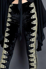 Load image into Gallery viewer, High Waist Velvet Pants