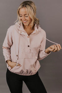 Pink Morris Hooded Jacket