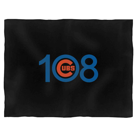 108 Cubs Win! Chicago Cubs World Series Fleece Blanket