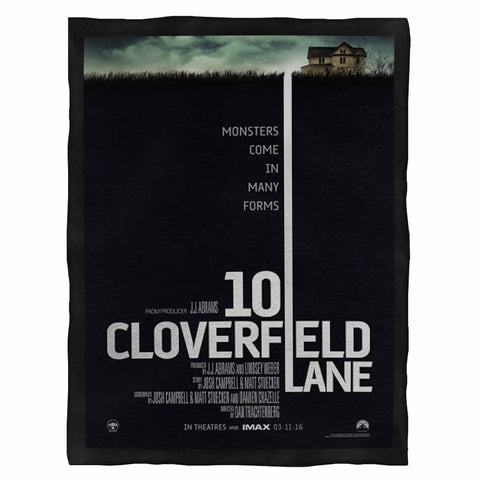 10 Cloverfield Lane Movie  Fleece Blanket