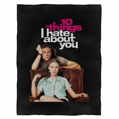 10 Things I Hate About You Fleece Blanket