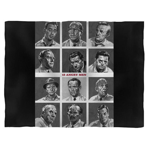 12 Angry Men Fleece Blanket