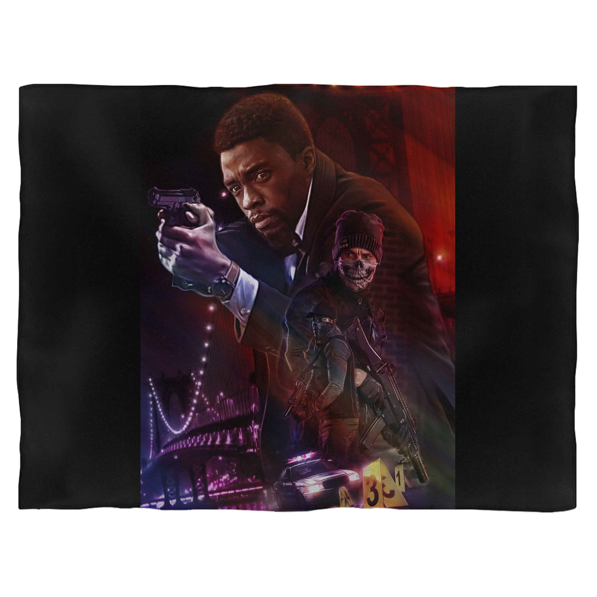 21 Bridges Movie Fleece Blanket