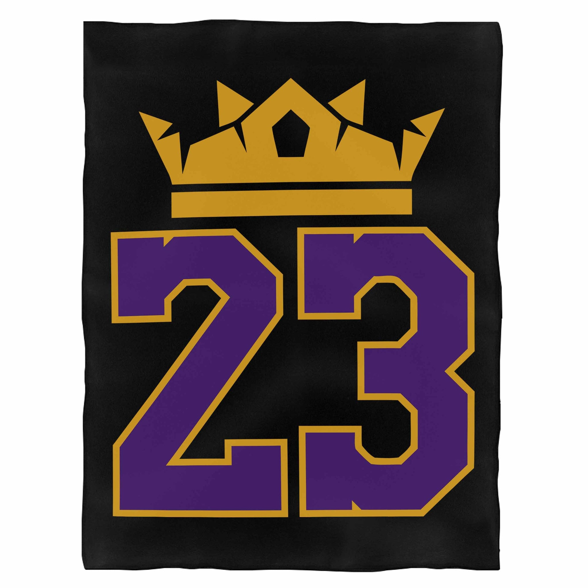 23 King Los Angeles Lakers  Indoor Wall Tapestry