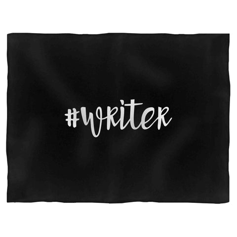 #Writer Fleece Blanket