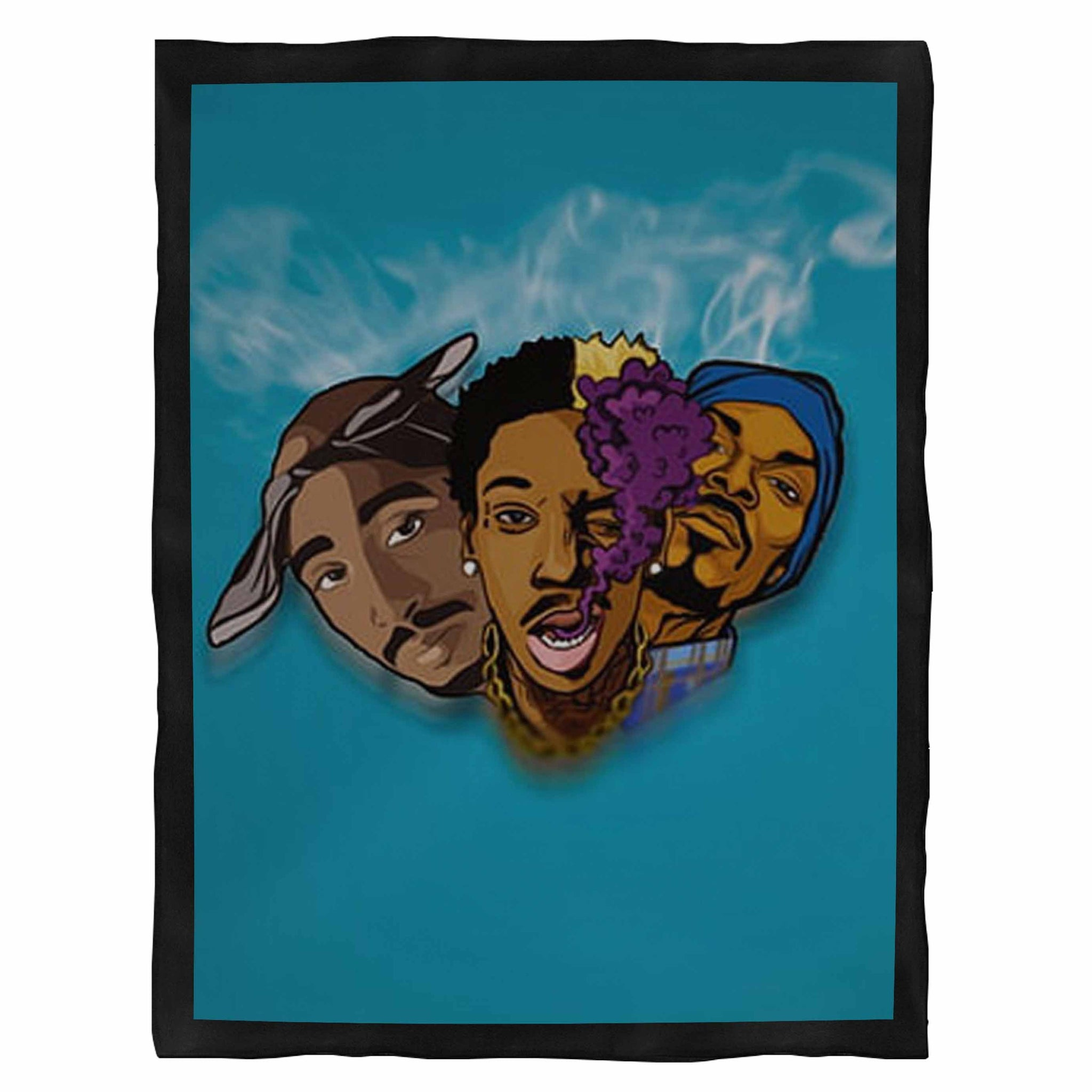 2Pac Hip Hop Makaveli Music Rap Snoop Dogg  Indoor Wall Tapestry