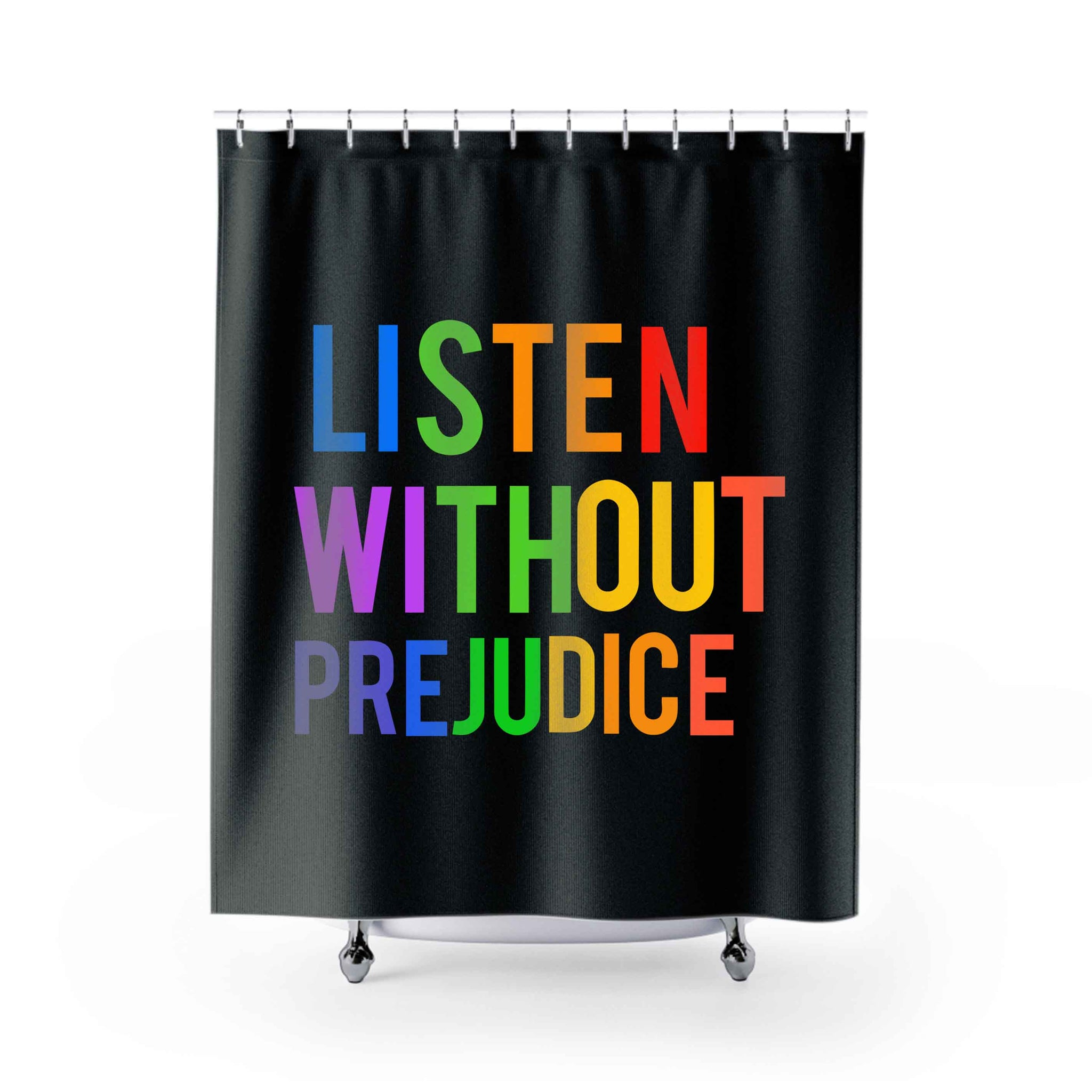 90S George Michael Listen Without Prejudice Shower Curtains