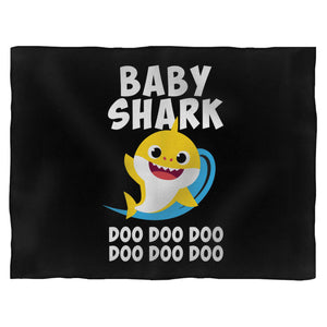 Baby Shark Doo Doo Dooo Fleece Blanket