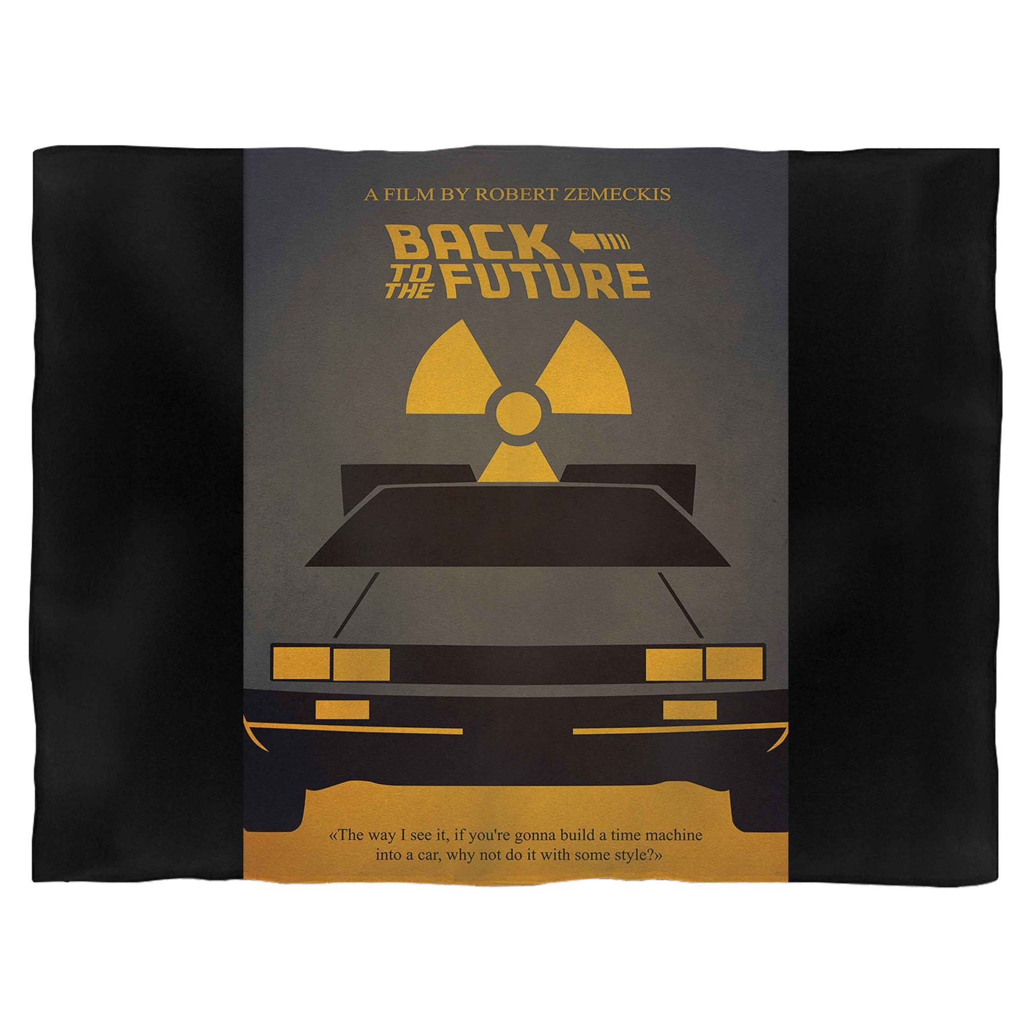 Back To The Future Fleece Blanket