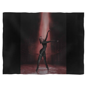 Ballerina Black Widow Fleece Blanket