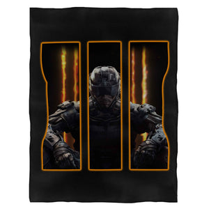 Call Of Duty Black Ops 3 Fleece Blanket