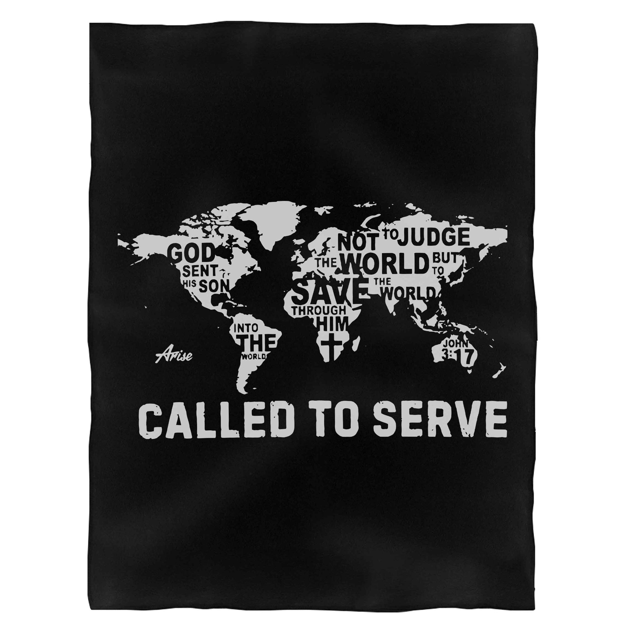 Called To Serve Fleece Blanket