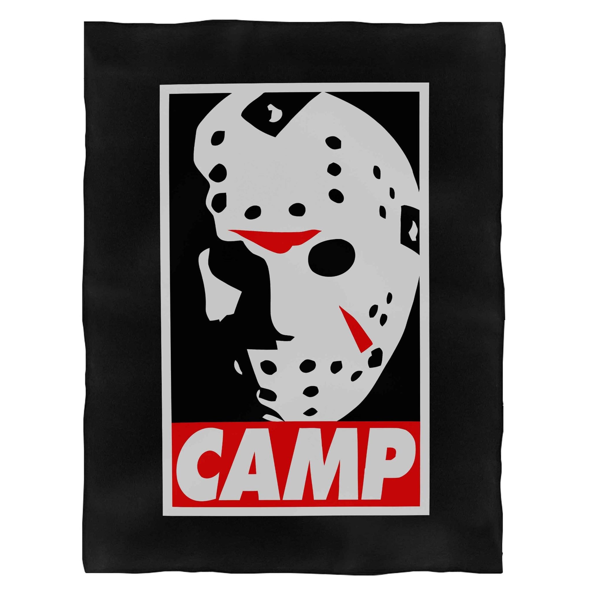 Camp Jason Voorhees Fleece Blanket