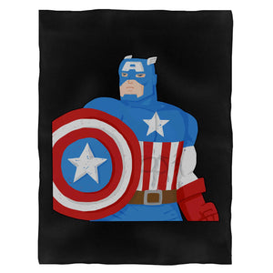 Captain America Marvel Avengers Infinity War Fleece Blanket