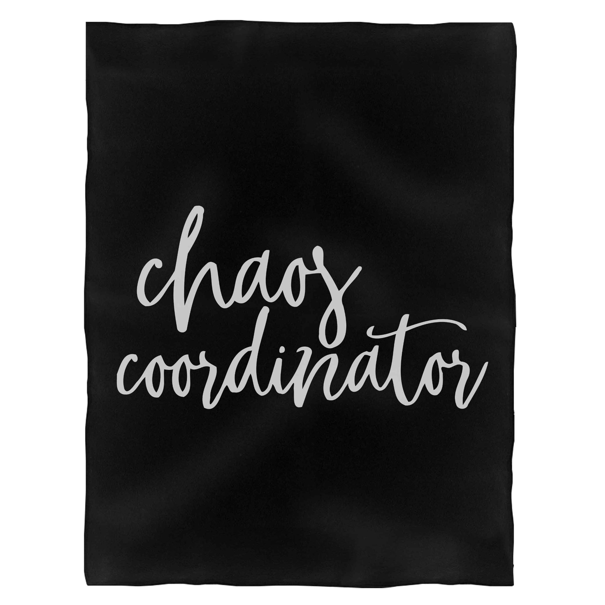 Chaos Coordinator Blessed Mama Mother'S Day Fleece Blanket