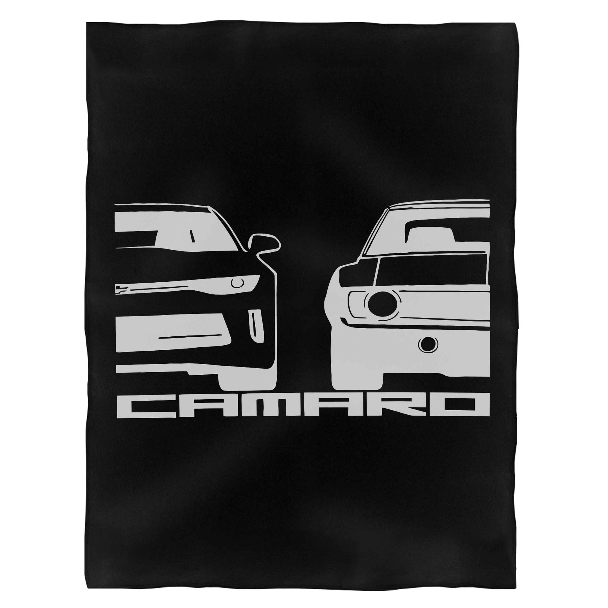 Chevy Camaro Fleece Blanket