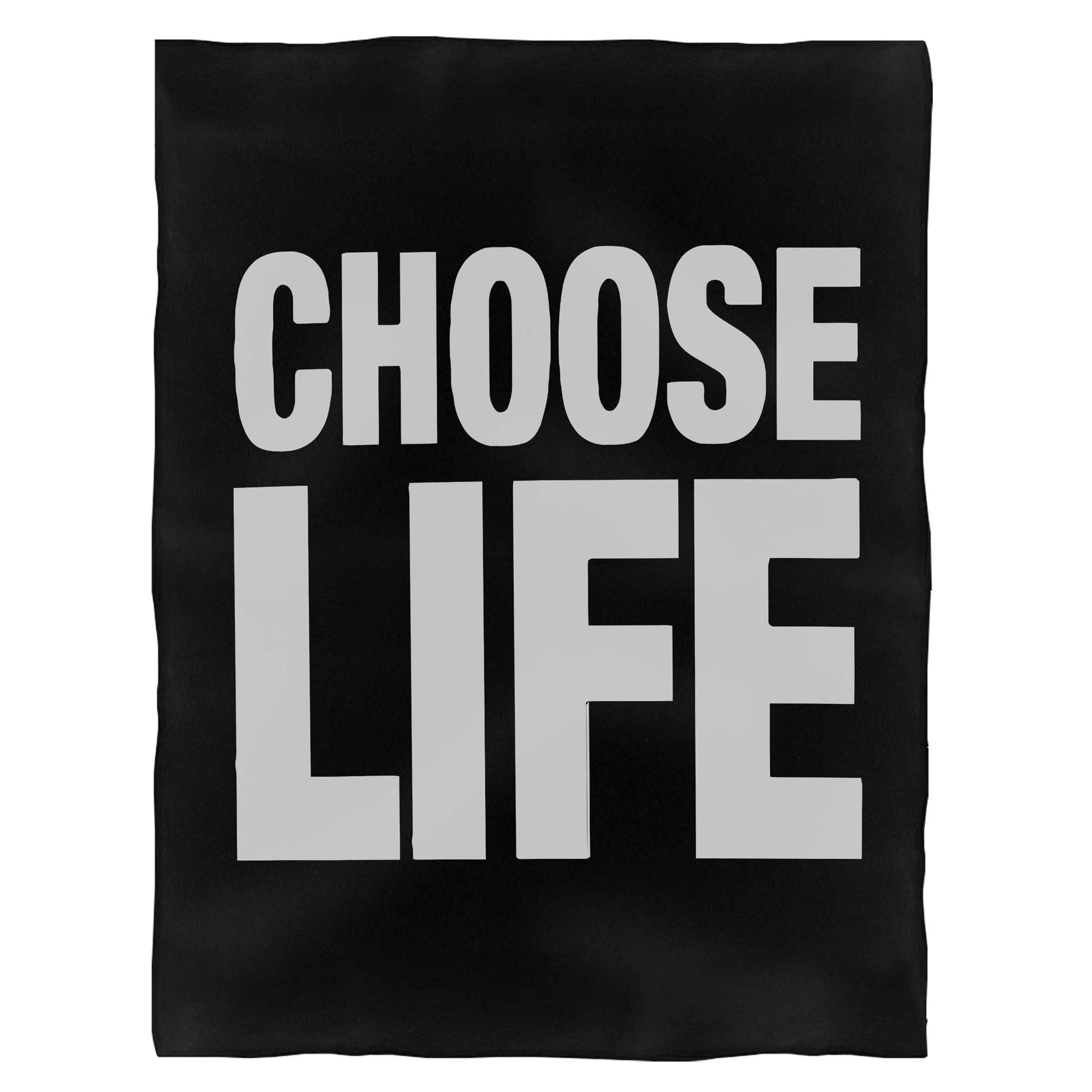 Choose Life George Michael Fleece Blanket