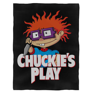 Chuckies Play Fleece Blanket