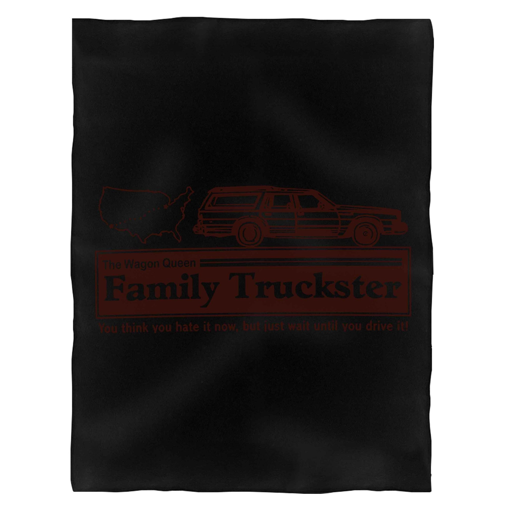 Clark W Griswold Wagon Queen Family Truckster Walley World National Lampoon'S Vacation Fleece Blanket
