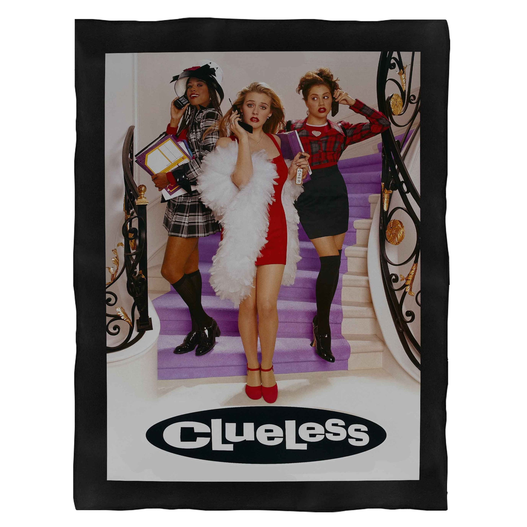 Clueless Cover Tv Series Fleece Blanket