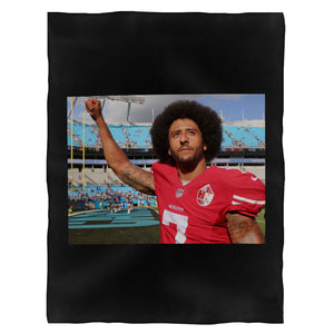 Colin Kaepernick Player Nfl Fleece Blanket