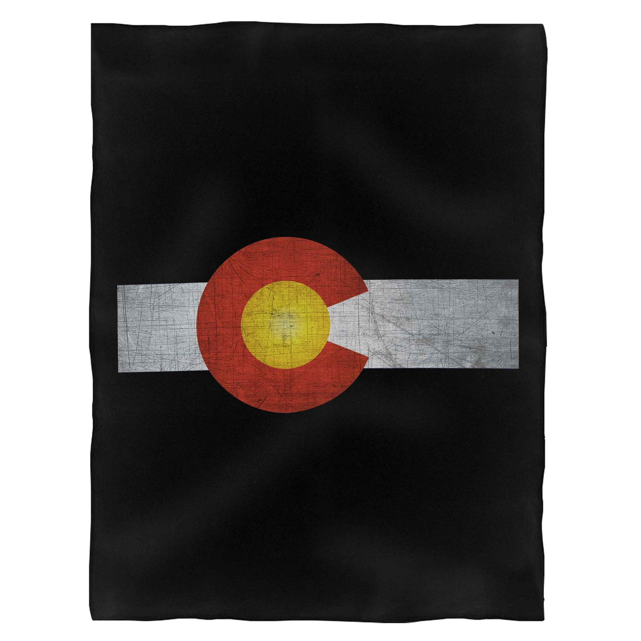 Colorado Flag Denver Country Pride State Rocky Mountains America Usa Fleece Blanket