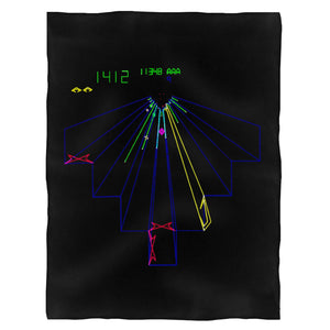 Cool Ready Player One Tempest Video Game Atari Arcade Gameplay Fleece Blanket