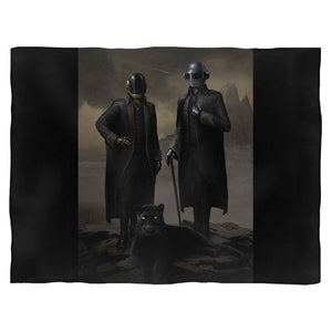 Daft Punk The Weeknd Starboy Metallic Rap Music Fleece Blanket