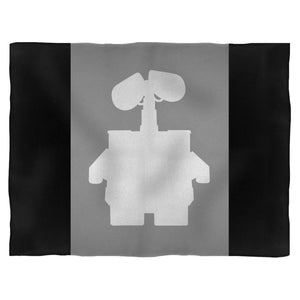 Disney Wall-E Silhouette Fleece Blanket