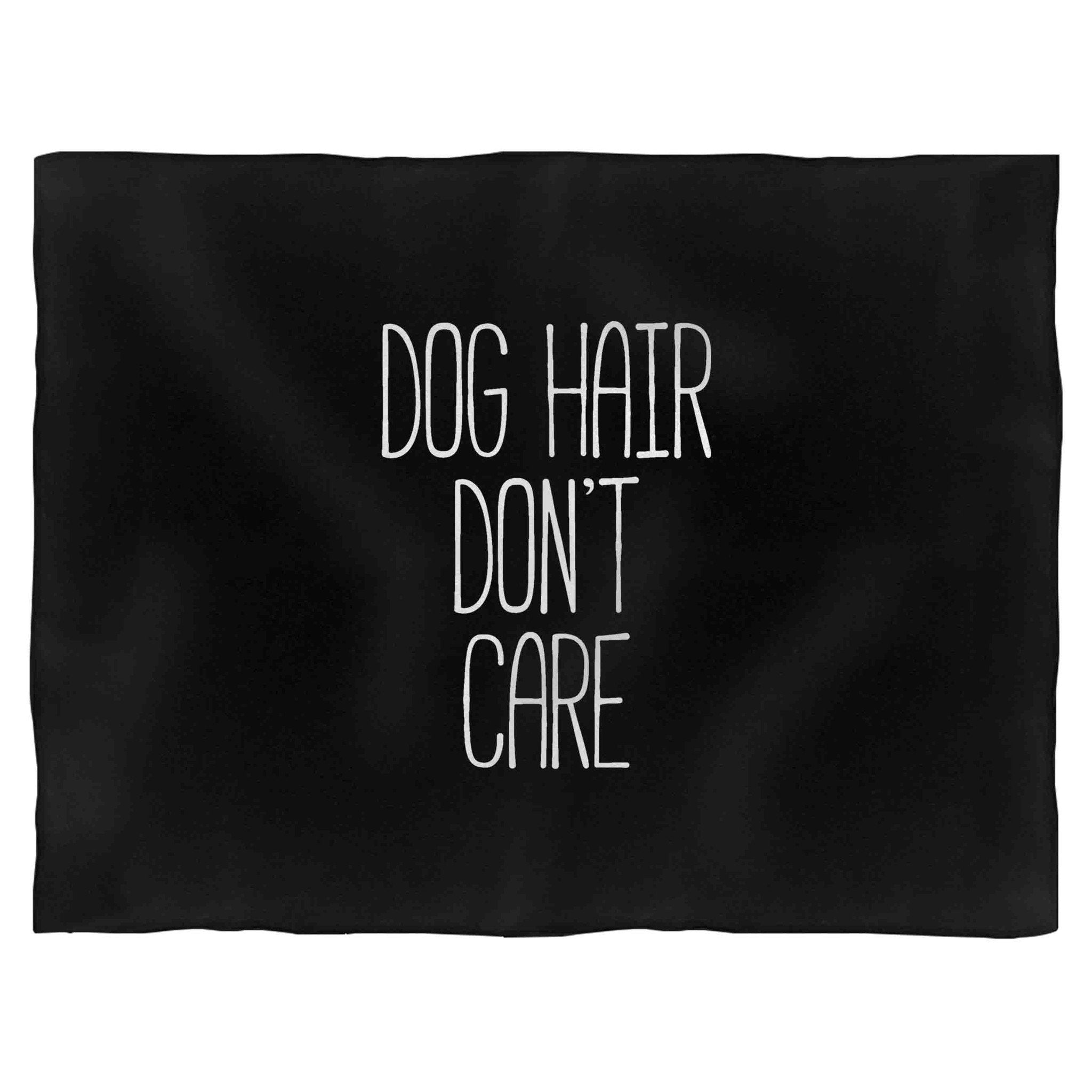 Dog Hair Don't Care Funny Dog Animal Lover Puppy Tumblr Indoor Wall Tapestry