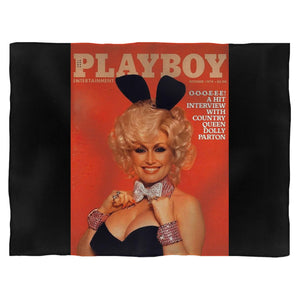 Dolly Parton Playboy Entertainment Fleece Blanket