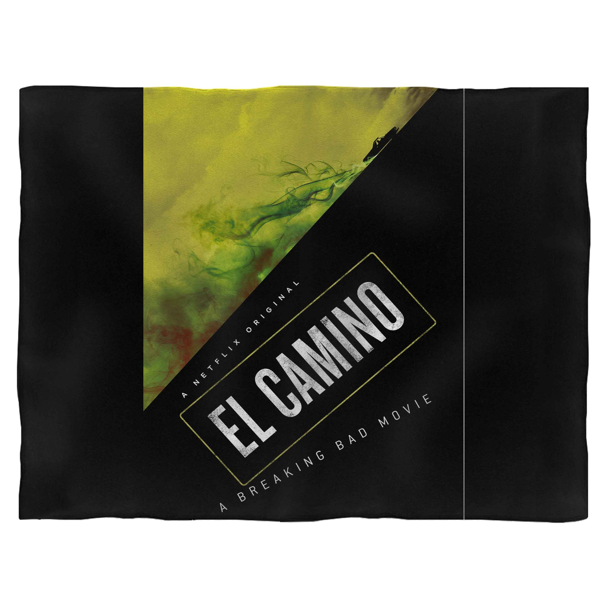 El Camino A Breaking Bad Fleece Blanket