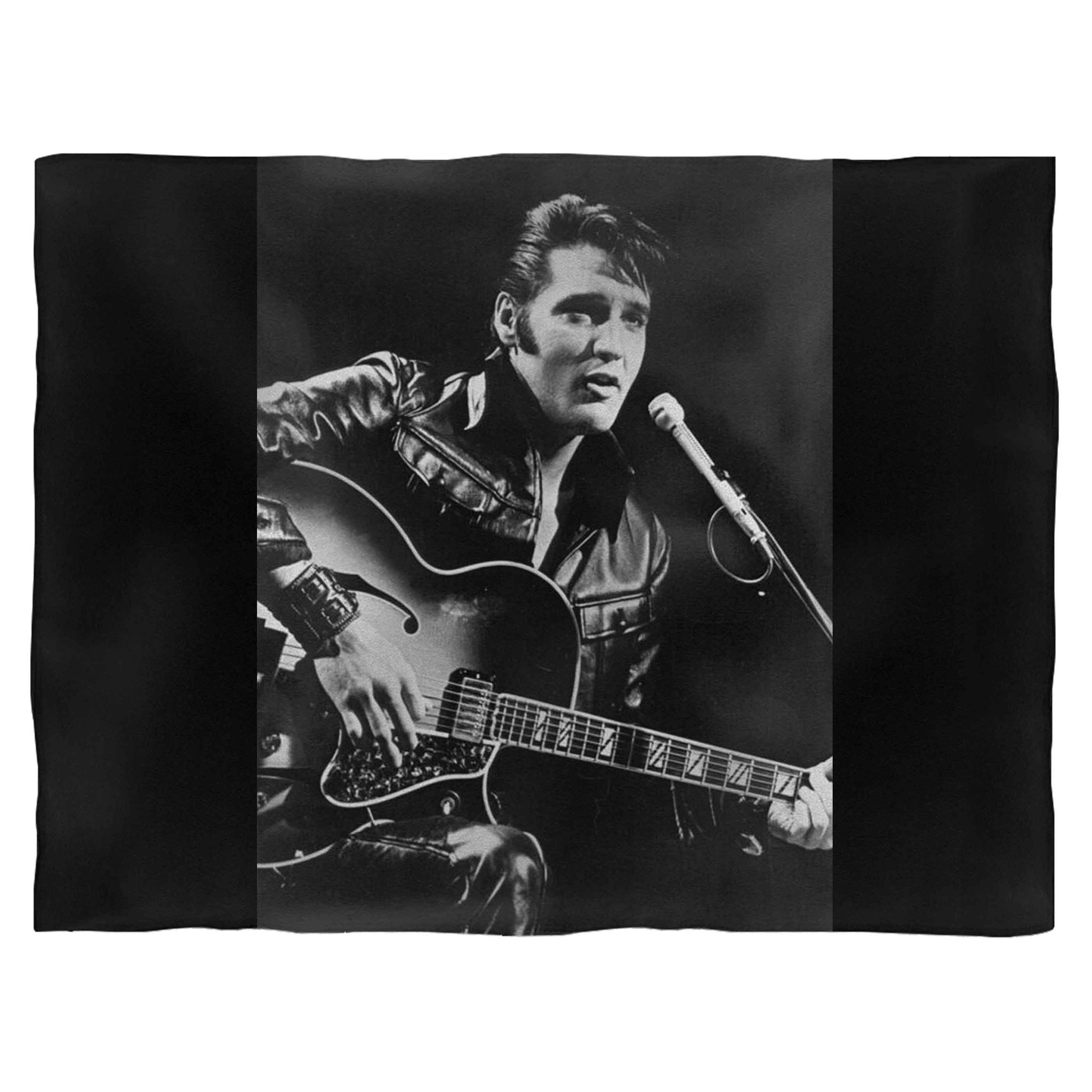 Elvis Presley King Of Rock Fleece Blanket