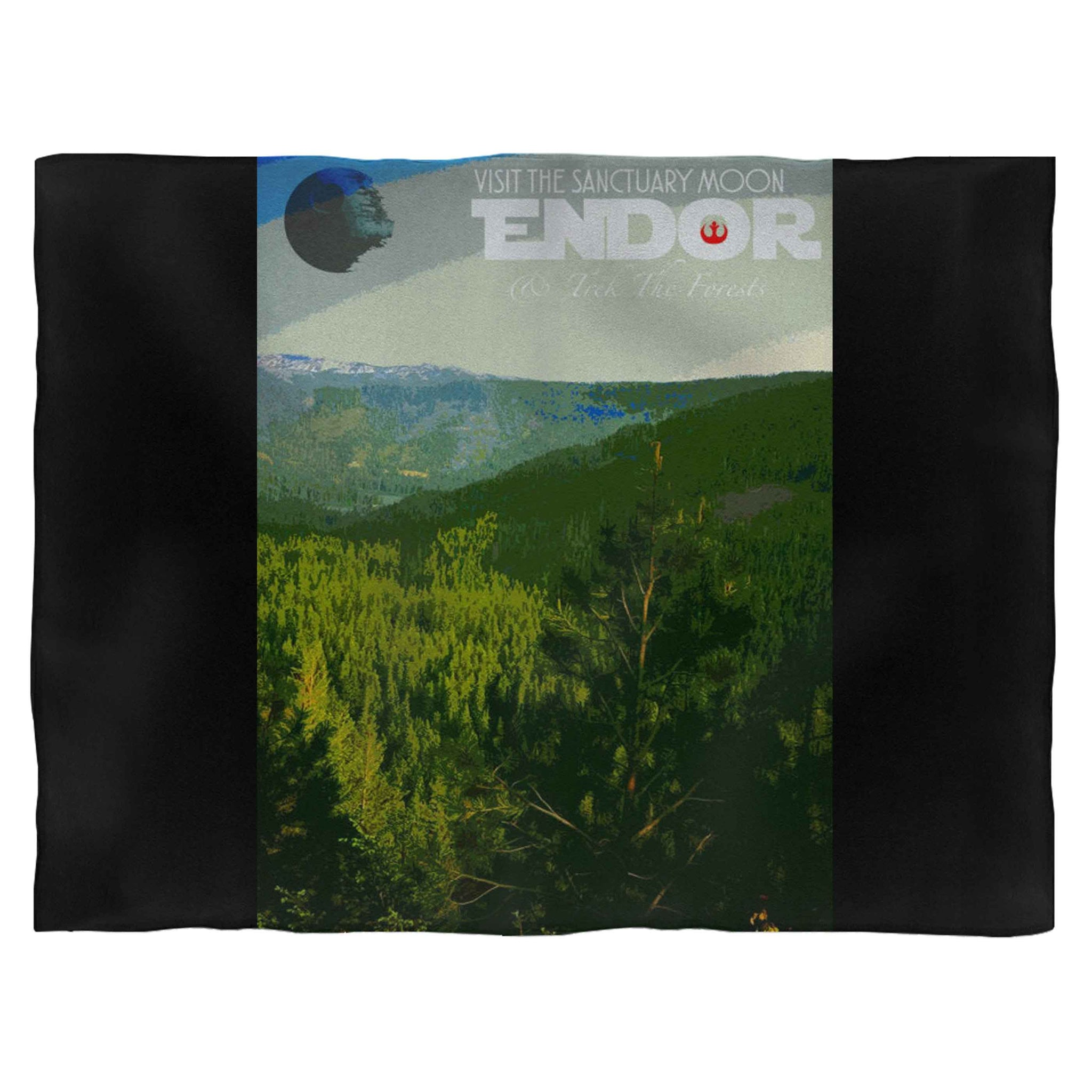 Endor Star Wars Fleece Blanket