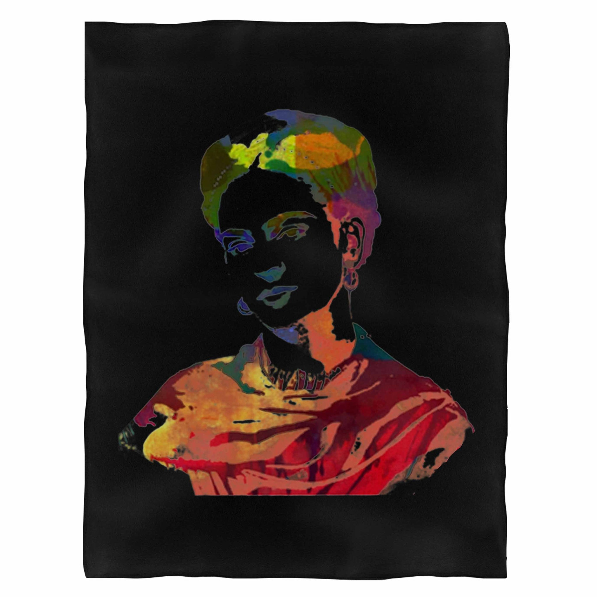 Frida Kahlo Colors Indoor Wall Tapestry
