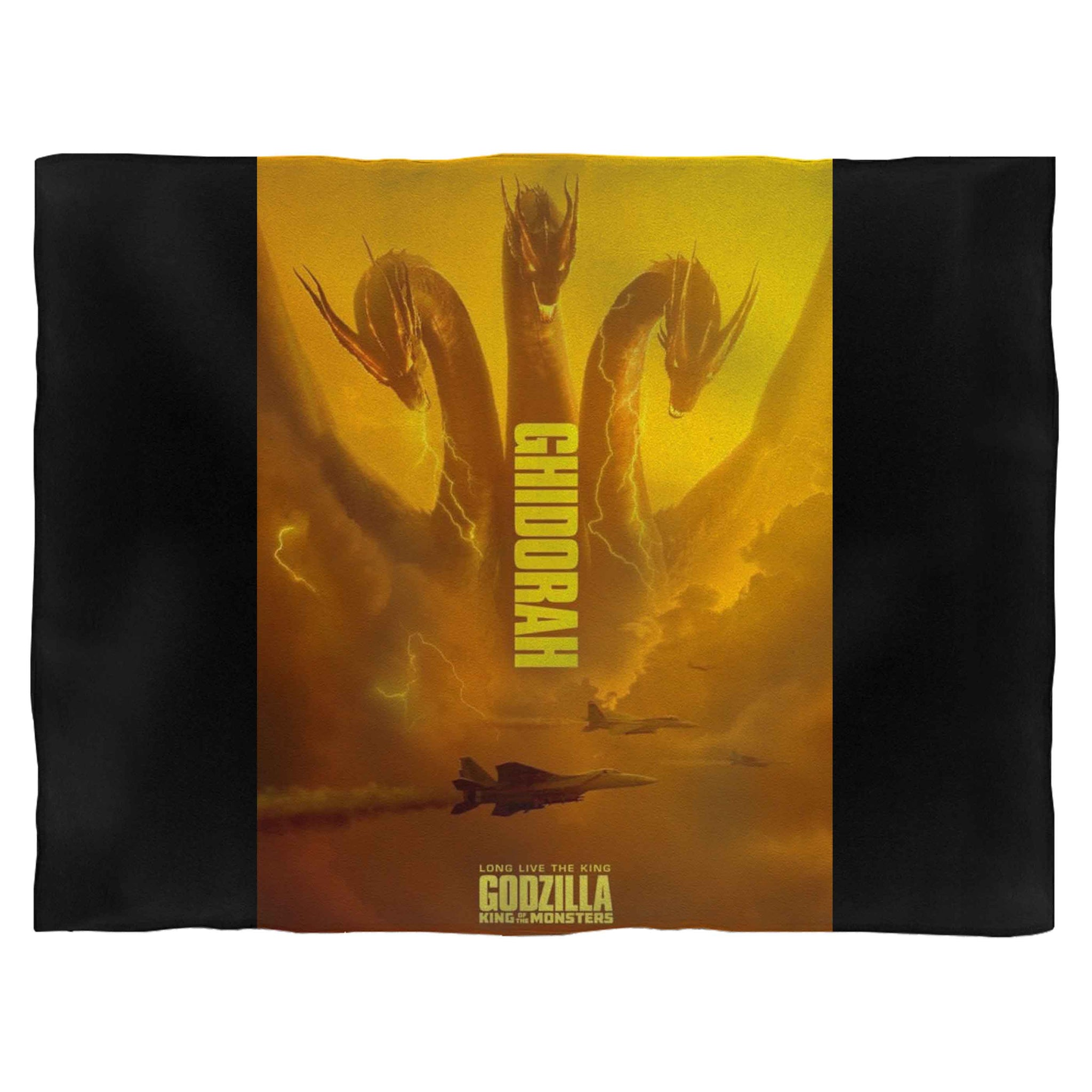 Ghidorah Godzilla King Of Monsters Fleece Blanket