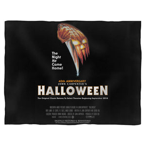 Halloween Horror Movie Fleece Blanket