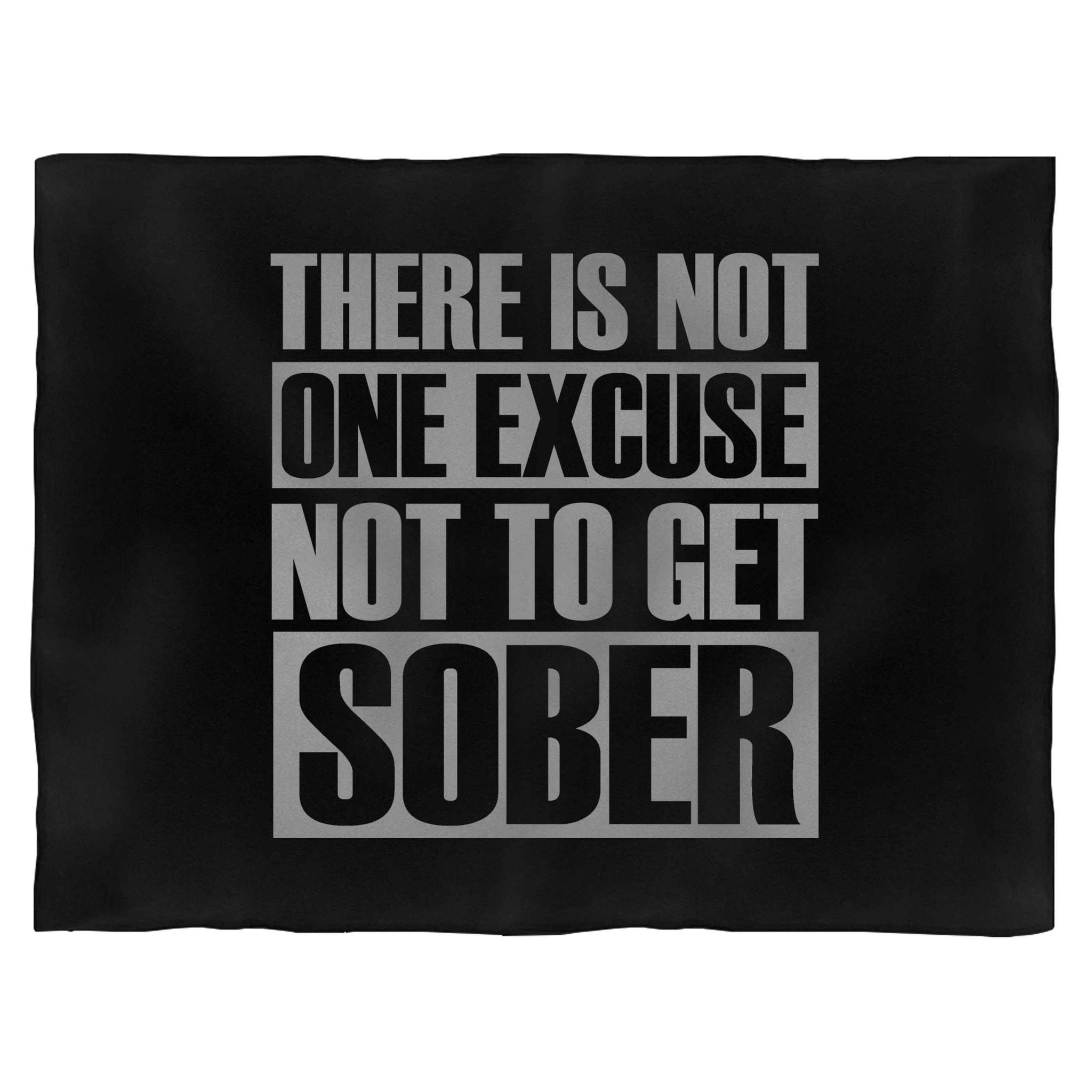 Heroin Get Sober Fleece Blanket