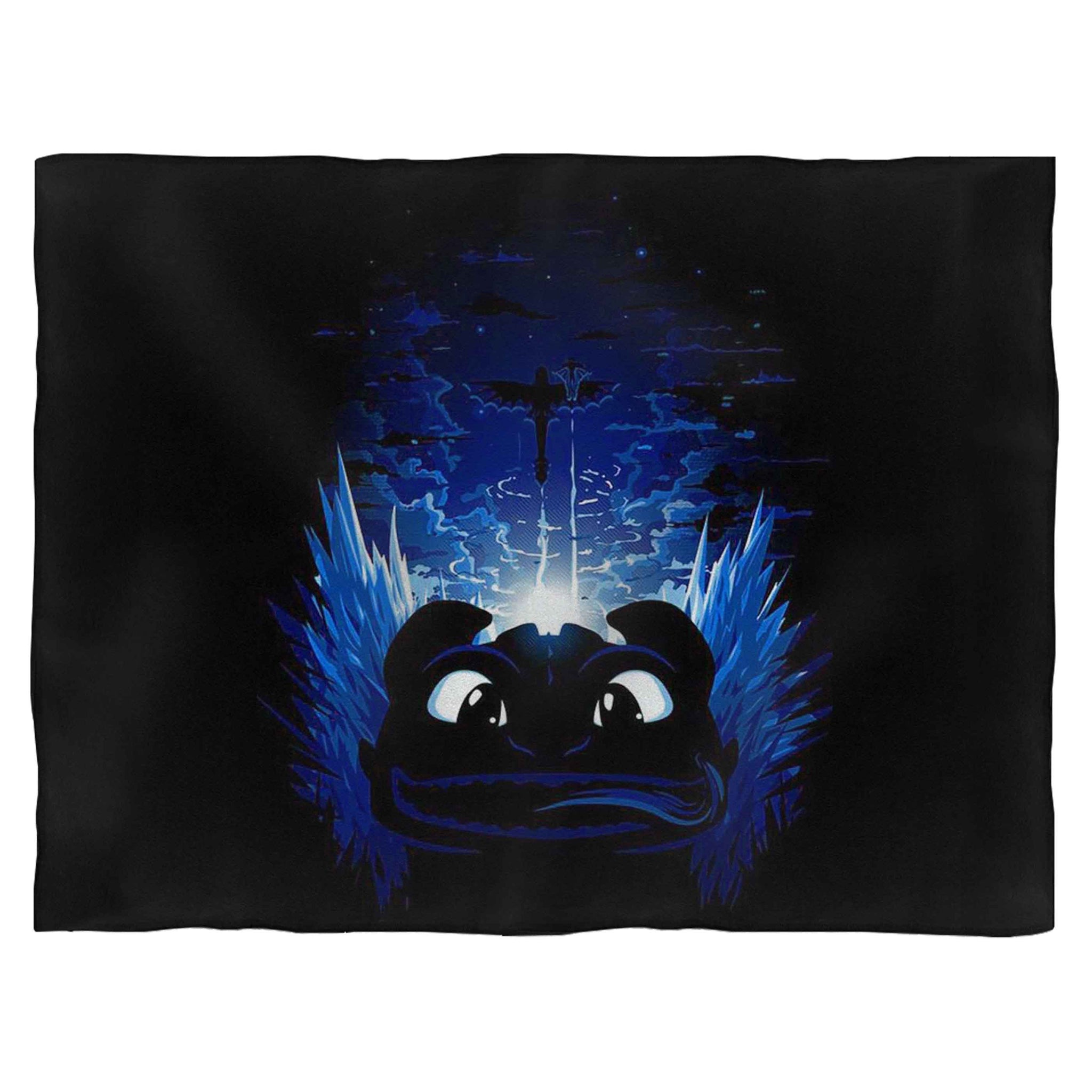 How To Train Your Dragon Hiccup Flying Fleece Blanket