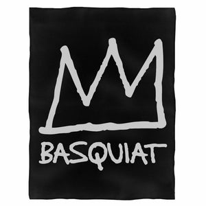 Jean Michel Basquiat Fleece Blanket