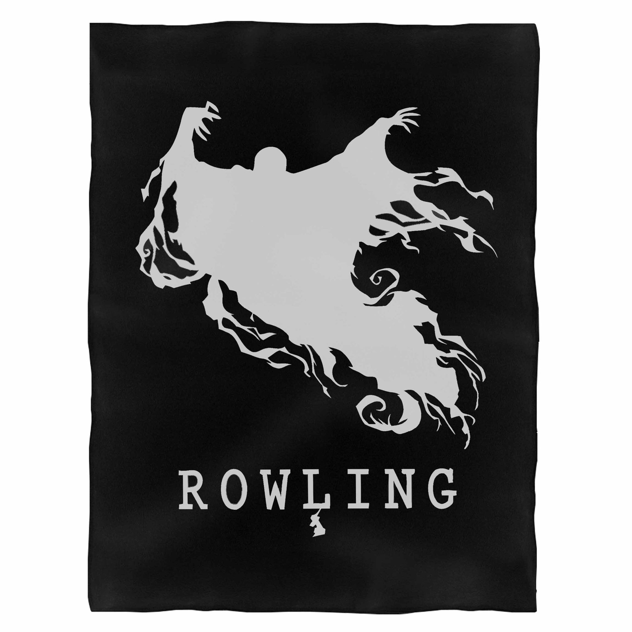 Jk Rowling Harry Potter Scary Ghost Dementor Fleece Blanket
