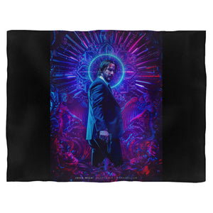John Wick Chapter 3 Parabellum Fleece Blanket