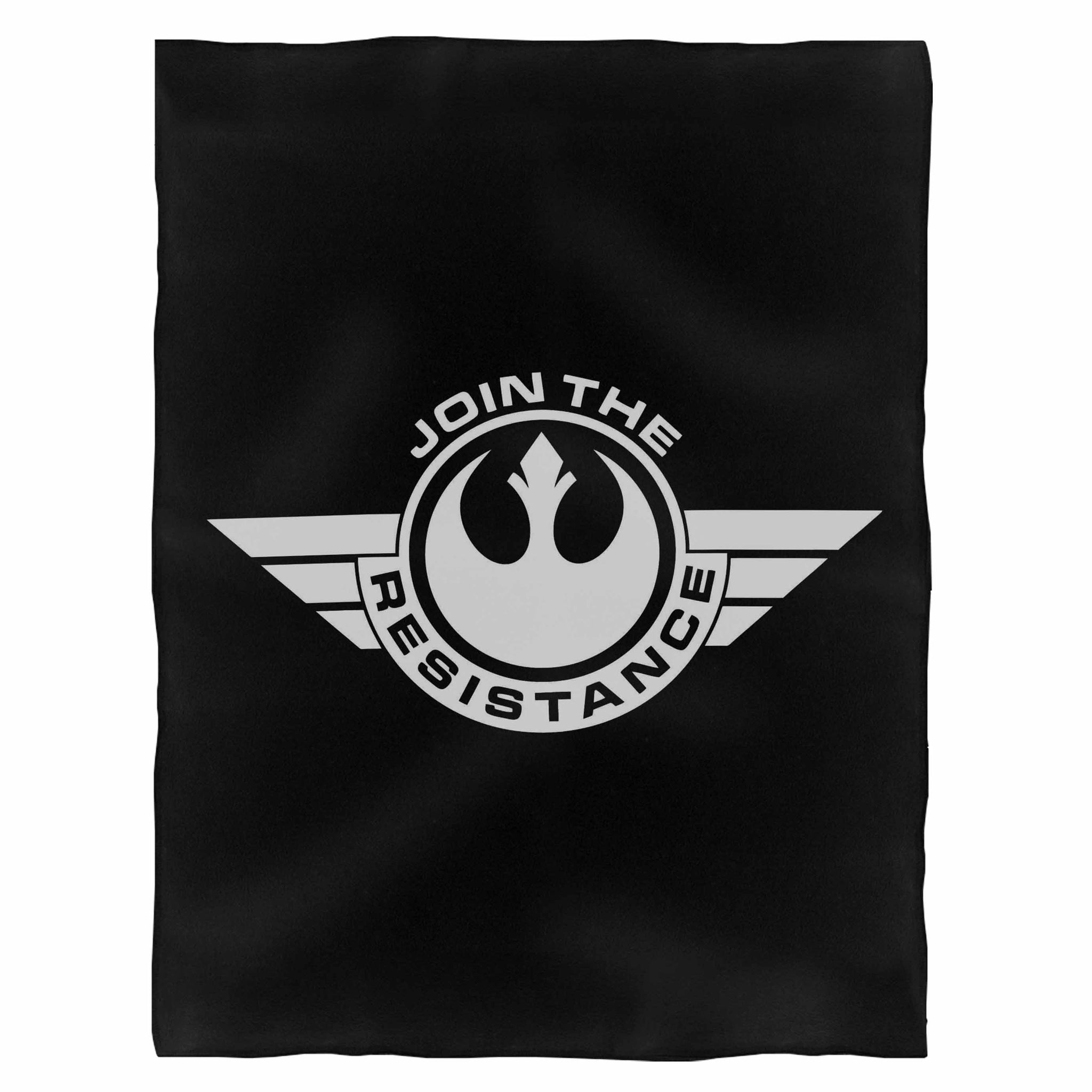 Join The Rogue Resistance Fleece Blanket