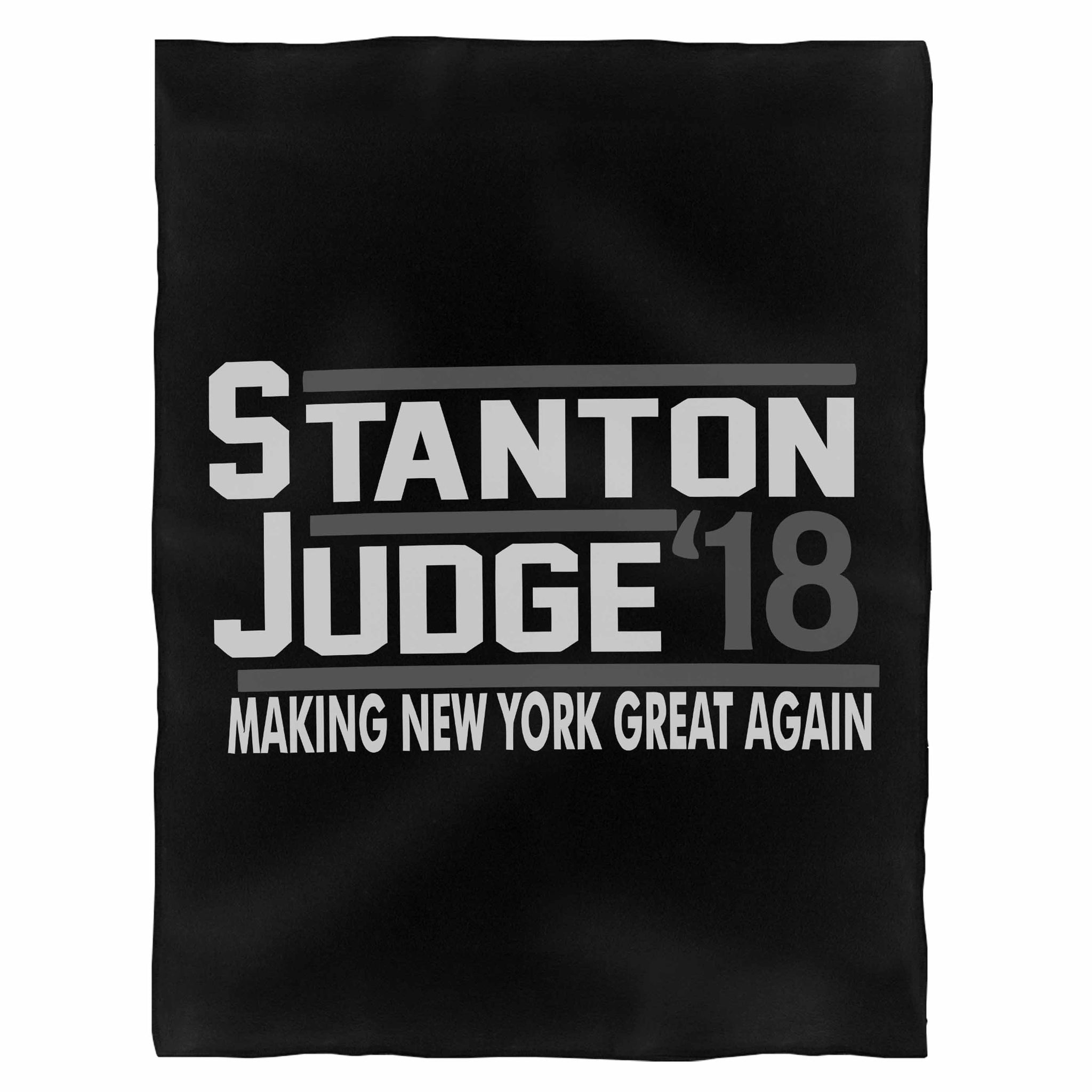 Judge Stanton 18 Fleece Blanket