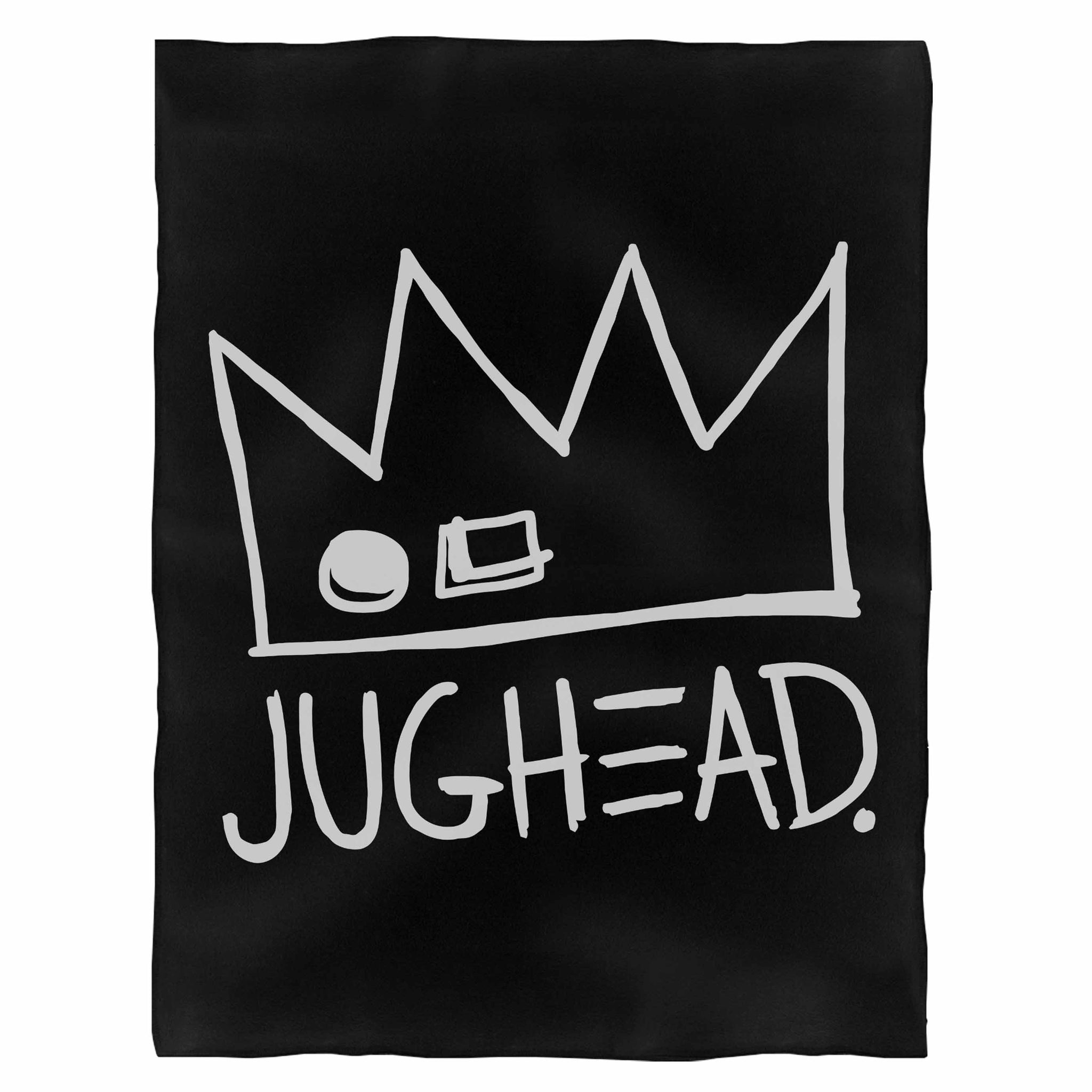 Jughead Jones Crown Fleece Blanket