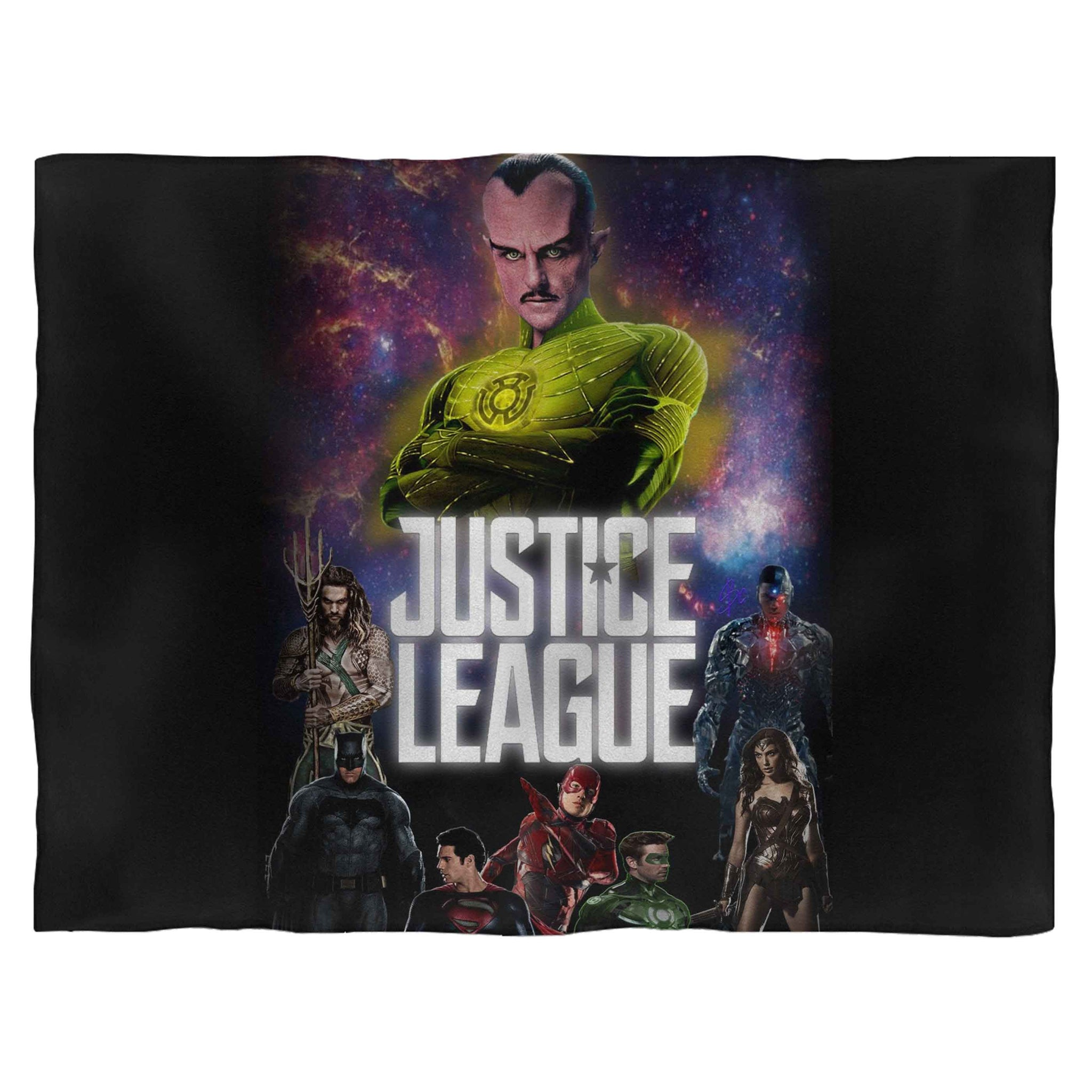 Justice League 4 Fleece Blanket