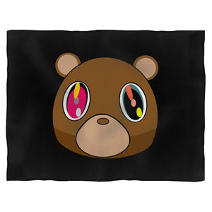 Kanye West Dropout Bear Fleece Blanket