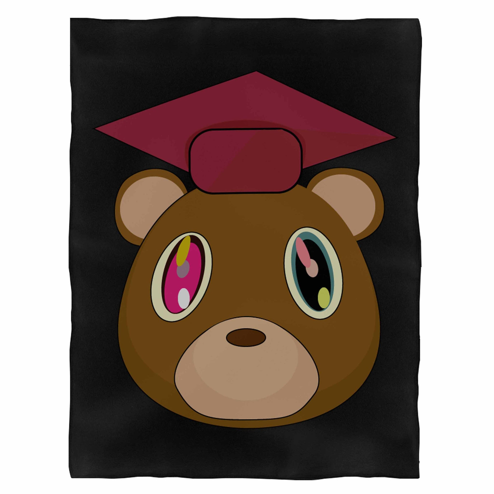 Kanye West Graduation Bear Fleece Blanket