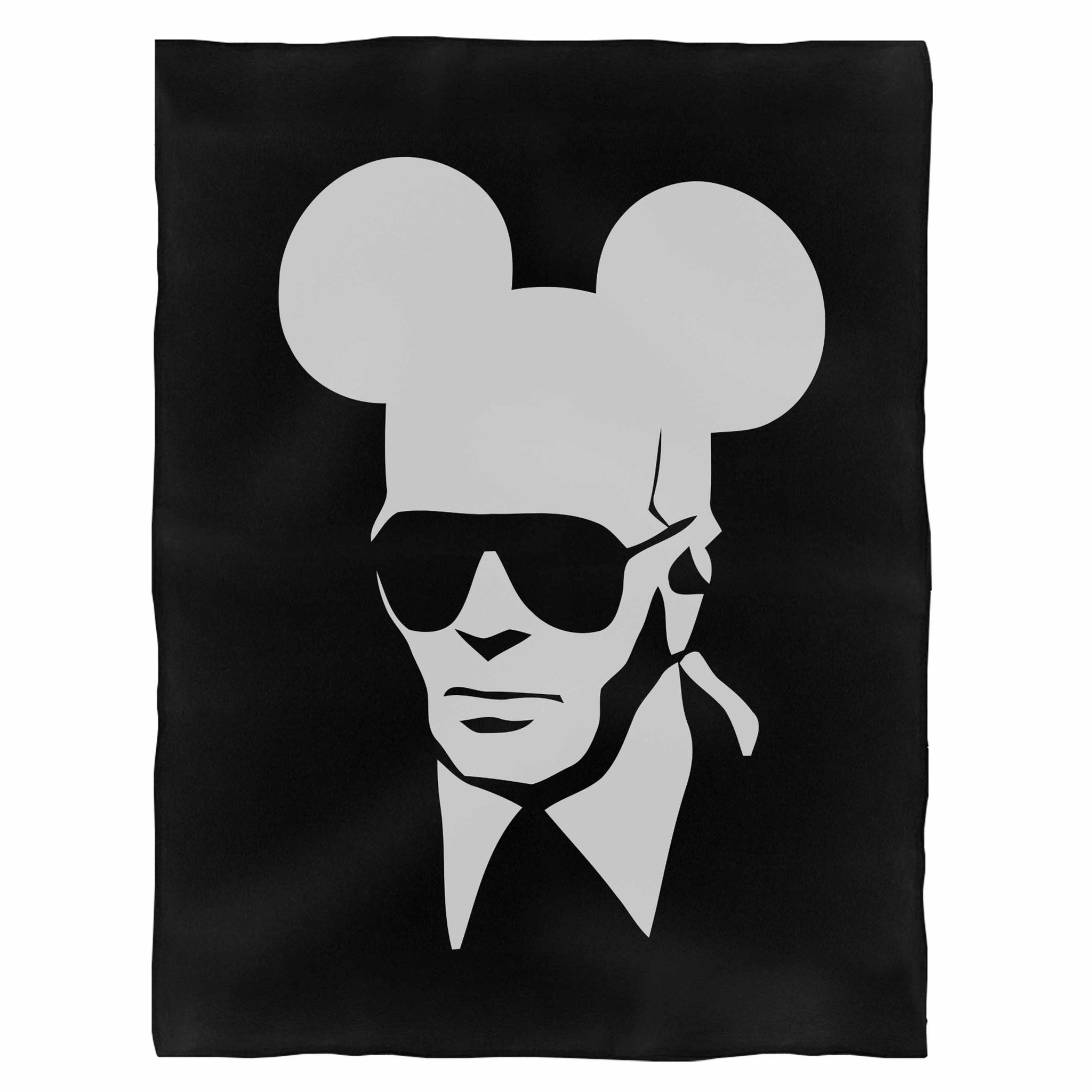 Karl Mouse Fleece Blanket
