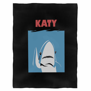 Katy Perry Shark Katy Jaws Fleece Blanket
